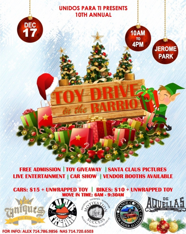2017 Toy Drive Flyer