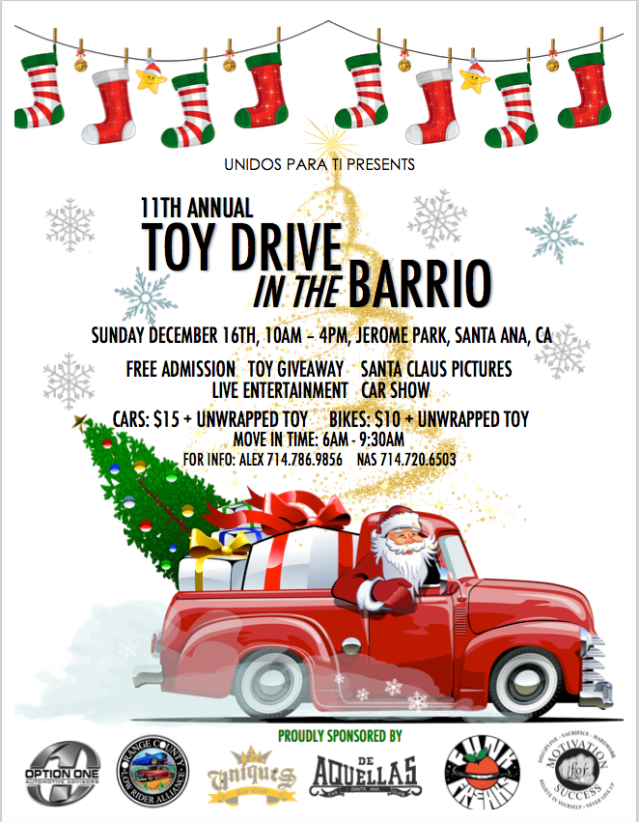 Toy Drive Pic 11th annual